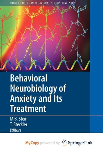 9783642029134: Behavioral Neurobiology of Anxiety and Its Treatment