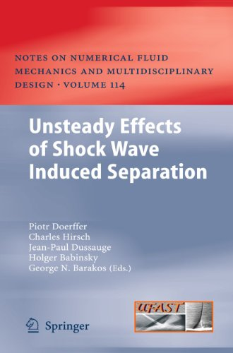 9783642030031: Unsteady Effects of Shock Wave induced Separation (Notes on Numerical Fluid Mechanics and Multidisciplinary Design)