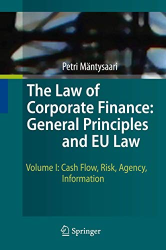 9783642031052: The Law of Corporate Finance: General Principles and EU Law