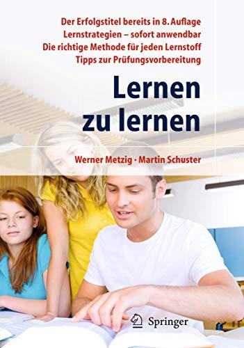 9783642031120: Lernen zu lernen: Lernstrategien wirkungsvoll einsetzen (German Edition)