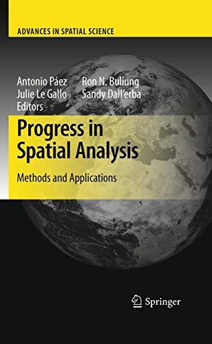 9783642033247: Progress in Spatial Analysis: Methods and Applications (Advances in Spatial Science)