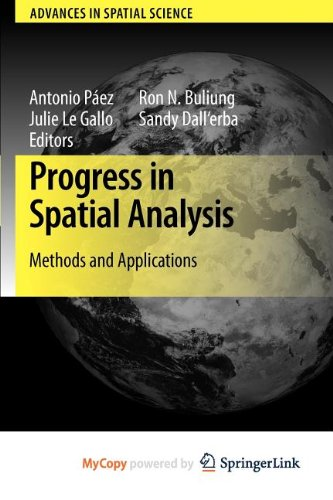 9783642033858: Progress in Spatial Analysis: Methods and Applications