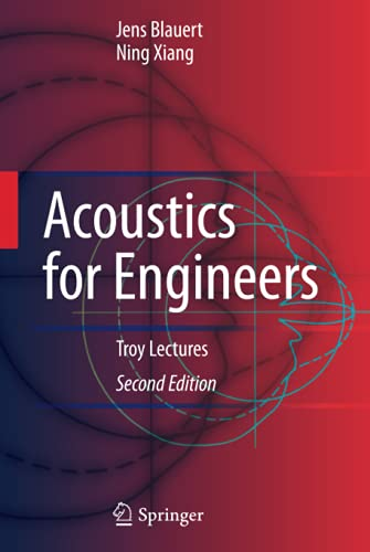 9783642033926: Acoustics for Engineers: Troy Lectures