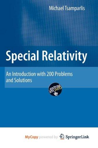 9783642039096: Special Relativity