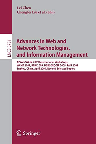 Advances in Web and Network Technologies and