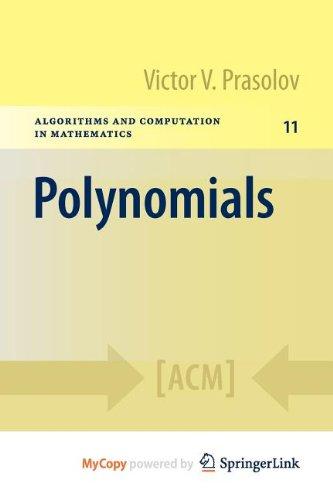 9783642040122: Polynomials