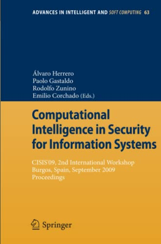 Computational Intelligence in Security for Information Systems: Paolo Gastaldo