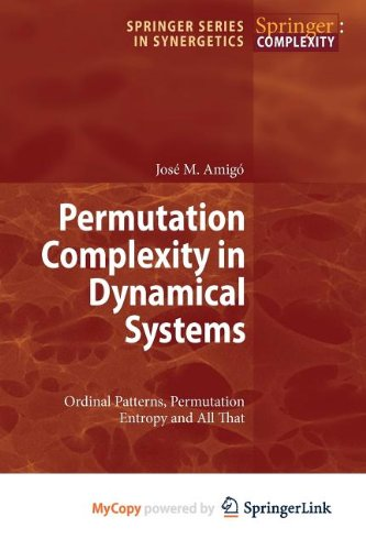9783642040986: Permutation Complexity in Dynamical Systems: Ordinal Patterns, Permutation Entropy and All That