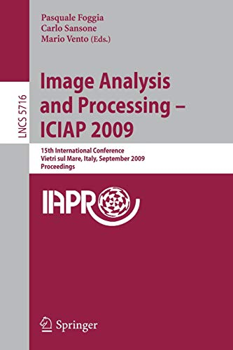 Image Analysis and Processing - ICIAP 2009: 15th International Conference Vietri sul Mare, Italy, ...