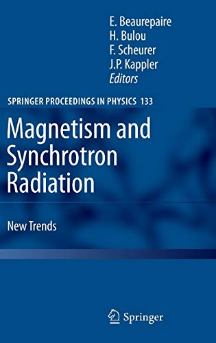 Magnetism and Synchrotron Radiation: Eric Beaurepaire
