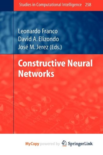 9783642045288: Constructive Neural Networks