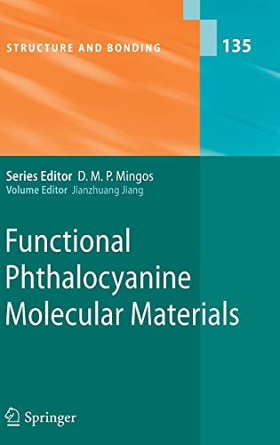 Functional Phthalocyanine Molecular Materials: Jianzhuang Jiang