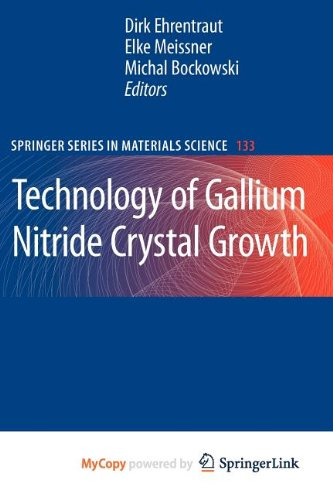 9783642048678: Technology of Gallium Nitride Crystal Growth
