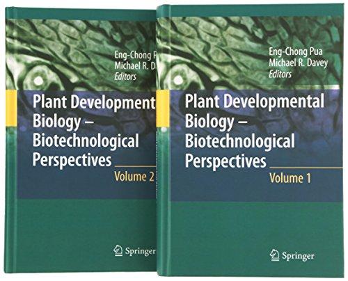Plant Developmental Biology - Biotechnological Perspectives. 2 Bände: Eng Chong Pua