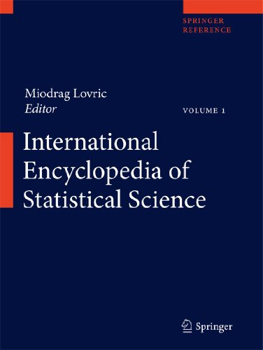 9783642048975: International Encyclopedia of Statistical Science