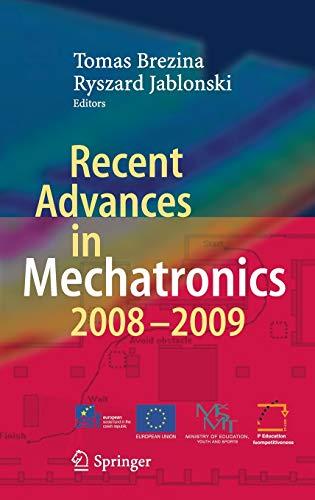 9783642050213: Recent Advances in Mechatronics: 2008 - 2009
