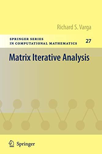 9783642051548: Matrix Iterative Analysis (Springer Series in Computational Mathematics)