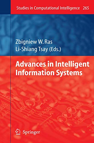 Advances in Intelligent Information Systems: Zbigniew W. Ras