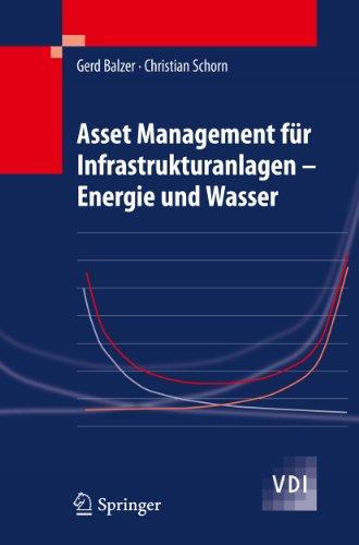9783642053917: Asset Management Fur Infrastrukturanlagen: Energie Und Wasser
