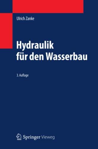 9783642054884: Hydraulik für den Wasserbau