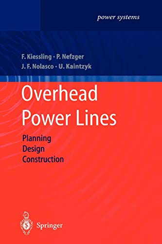 9783642055560: Overhead Power Lines: Planning, Design, Construction (Power Systems)