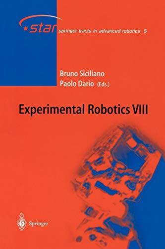 9783642055591: Experimental Robotics VIII: 8 (Springer Tracts in Advanced Robotics)