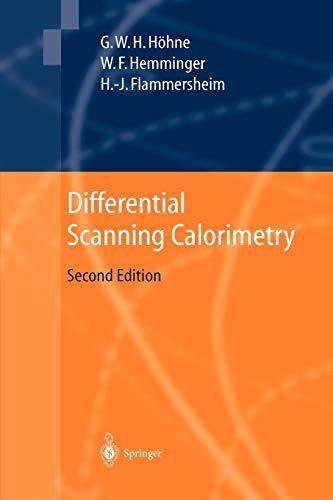 9783642055935: Differential Scanning Calorimetry