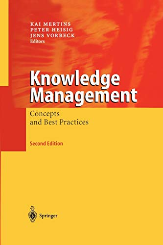 9783642055980: Knowledge Management: Concepts and Best Practices