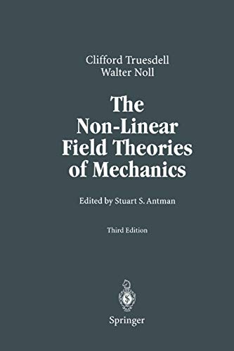 9783642057014: The Non-Linear Field Theories of Mechanics