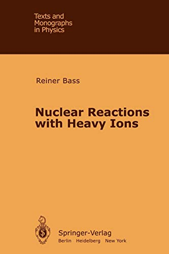 9783642057182: Nuclear Reactions with Heavy Ions