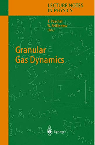 9783642057571: Granular Gas Dynamics (Lecture Notes in Physics)