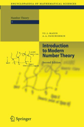 9783642057977: Introduction to Modern Number Theory: Fundamental Problems, Ideas and Theories (Encyclopaedia of Mathematical Sciences)