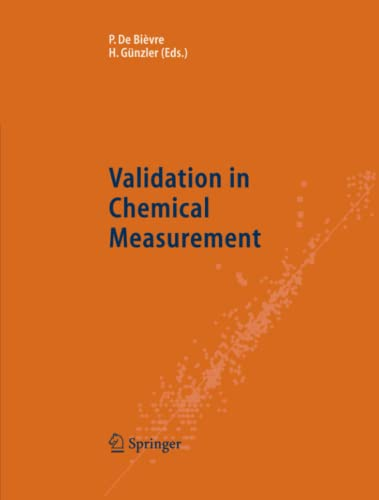 9783642058677: Validation in Chemical Measurement