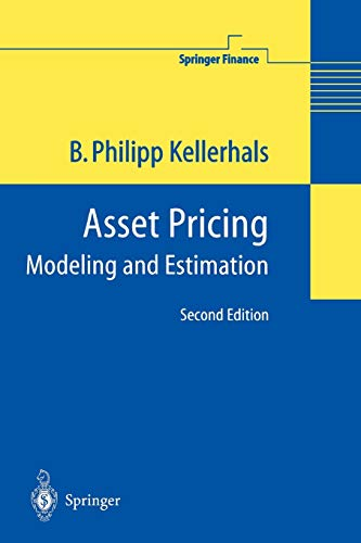 9783642058790: Asset Pricing: Modeling and Estimation (Springer Finance)