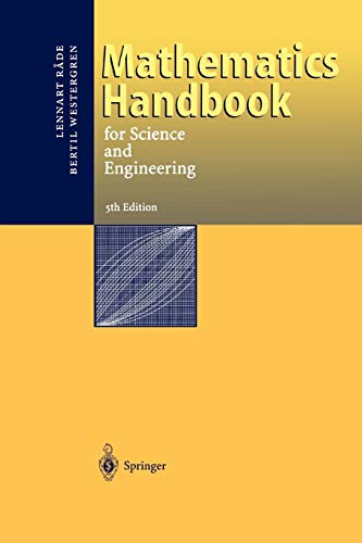 9783642059360: Mathematics Handbook for Science and Engineering