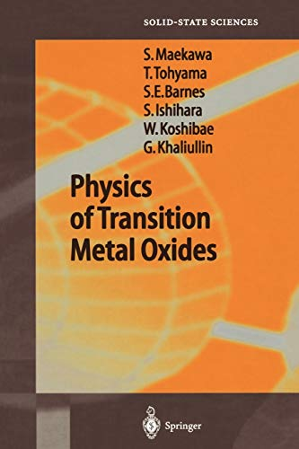9783642059636: Physics of Transition Metal Oxides (Springer Series in Solid-State Sciences)