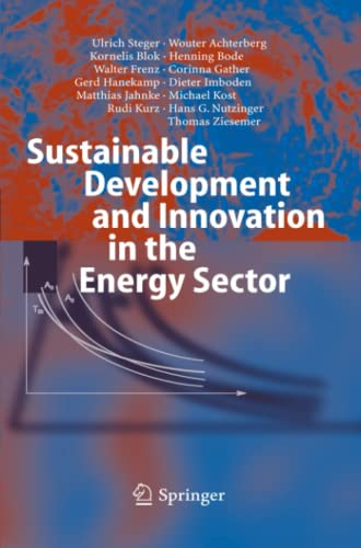 9783642062049: Sustainable Development and Innovation in the Energy Sector