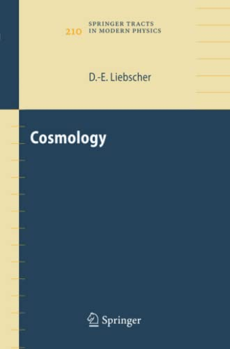9783642062308: Cosmology (Springer Tracts in Modern Physics)