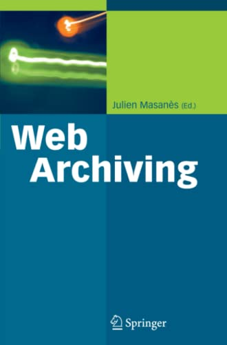 9783642062360: Web Archiving