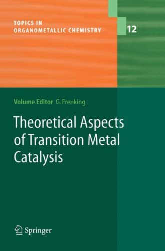 9783642062513: Theoretical Aspects of Transition Metal Catalysis (Topics in Organometallic Chemistry)