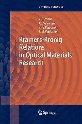 Kramers-Kronig Relations in Optical Materials Research: Kai-Erik Peiponen