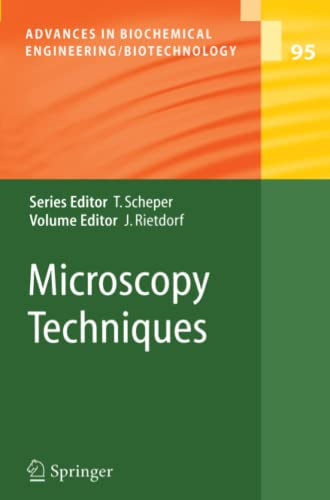 9783642062612: Microscopy Techniques (Advances in Biochemical Engineering/Biotechnology)