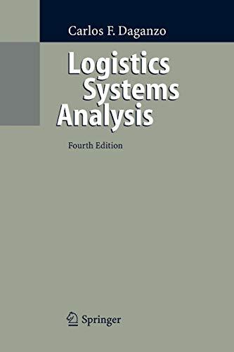 9783642062940: Logistics Systems Analysis
