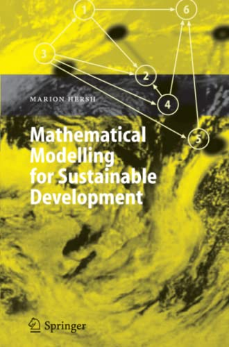 9783642063411: Mathematical Modelling for Sustainable Development (Environmental Science and Engineering)