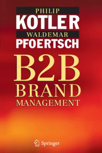 9783642064708: B2B Brand Management