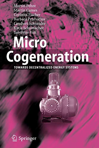 9783642064982: Micro Cogeneration: Towards Decentralized Energy Systems