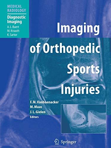 9783642065323: Imaging of Orthopedic Sports Injuries (Medical Radiology)