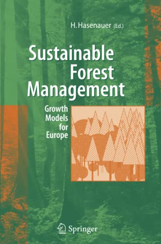 9783642065514: Sustainable Forest Management: Growth Models for Europe
