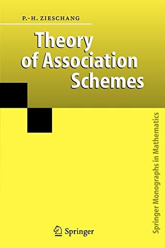 9783642065569: Theory of Association Schemes (Springer Monographs in Mathematics)
