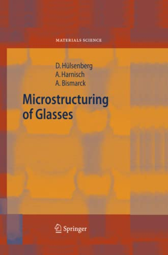 9783642065712: Microstructuring of Glasses (Springer Series in Materials Science)